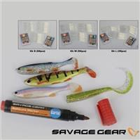 Savage gear - Soft Lure and marker KIT M - 56ks