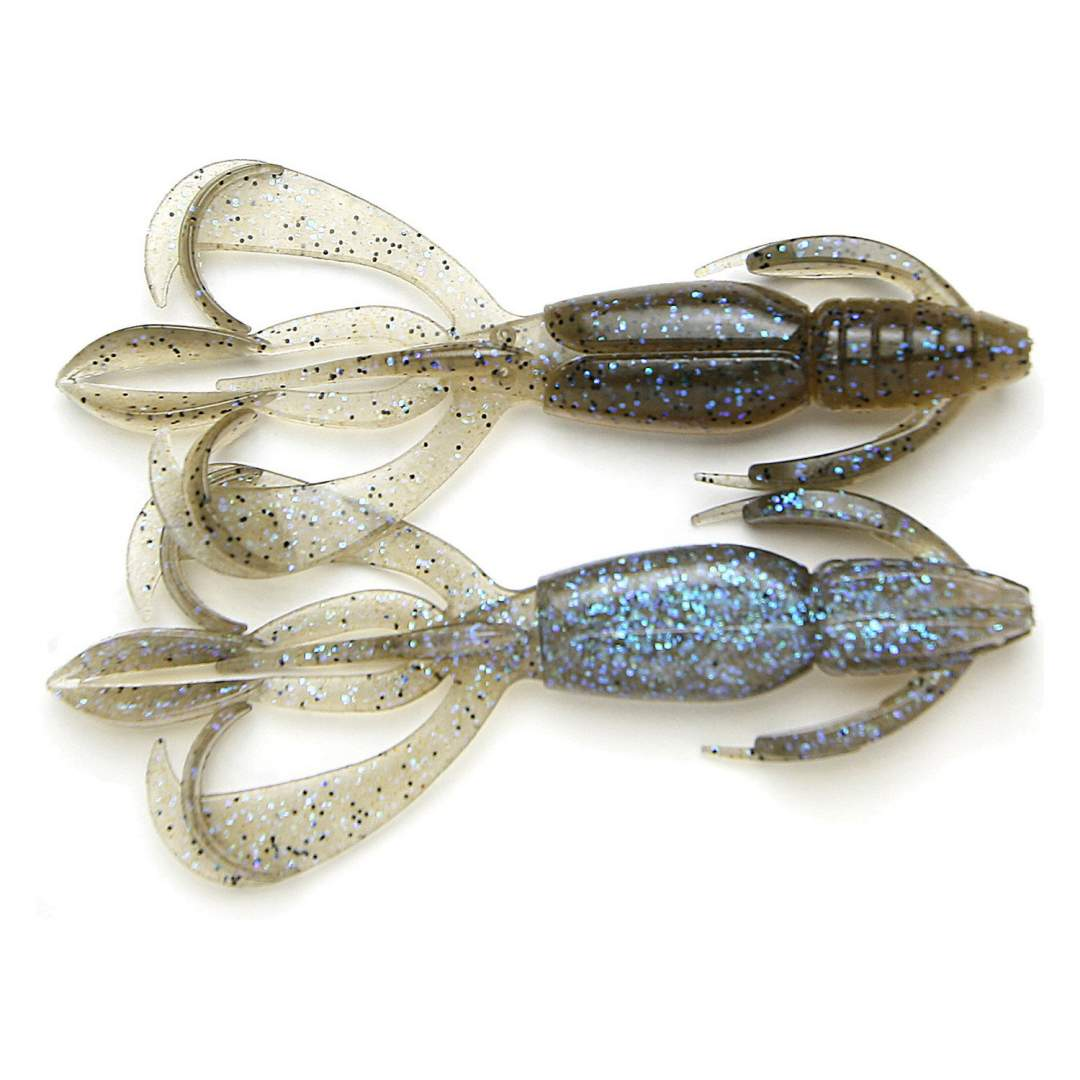Keitech Crazy Flapper 90mm - barva Electric Smoke Craw 462